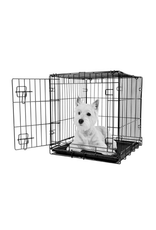Dog & cat (W) Dogit Single Door Wire Crate - Small - 61 x 45 x 51 cm (24 x 17.5 x 20 in)