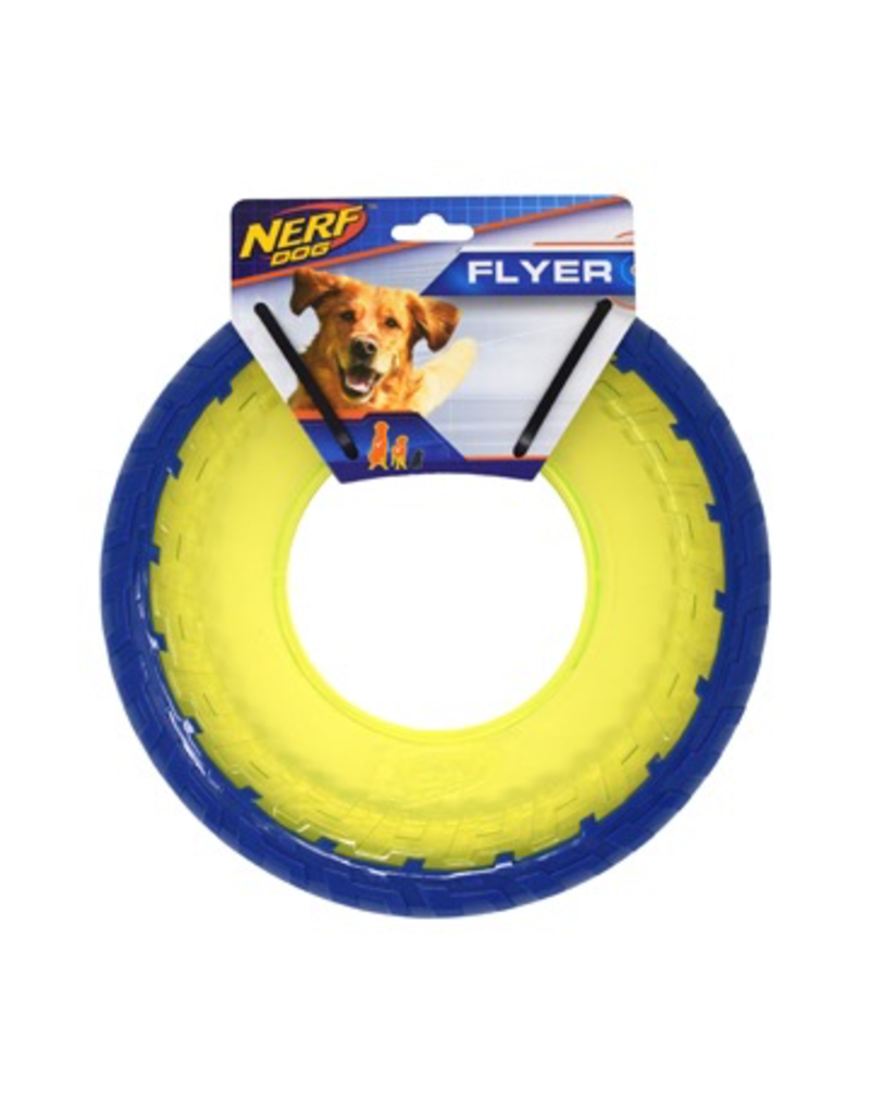 Dog & cat Nerf 2-Tone TPR Flyer