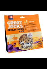 Dog & cat Great Jack's Freeze Dried Raw Treats - Chicken - 7 oz