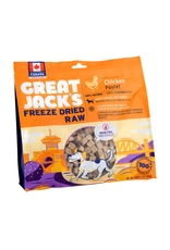 Aquaria (W) Great Jack's Freeze Dried Raw Treats - Chicken - 14 oz