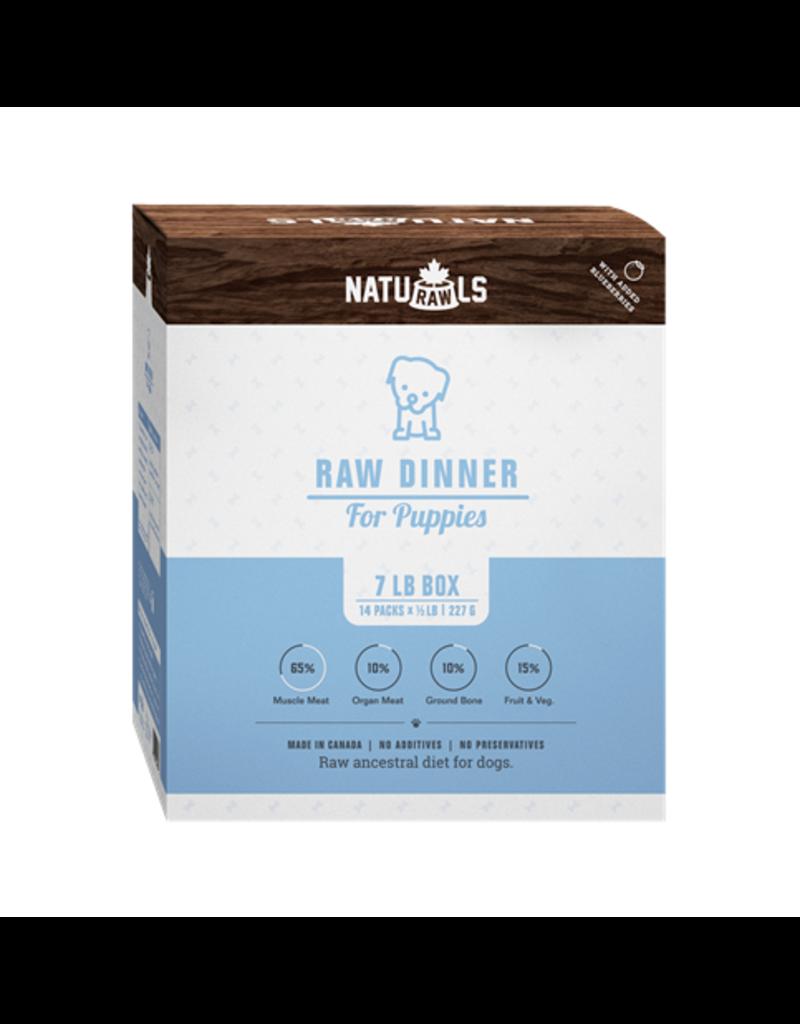 Dog & cat NatuRAWls Frz Raw Puppy Food 14 x 227g (C)