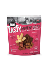 Dog & cat Jays Tasty Adventures Cheesy Beef Snack Mix 100g
