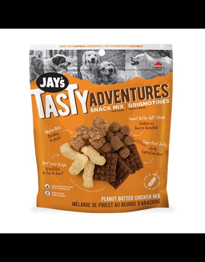 Dog & cat Jays Tasty Adventures Peanut Butter Chicken Snack Mix 100g