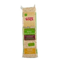 Small Animal (W) Living World Pine Shavings -10L