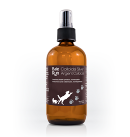 Dog & cat Baie Run Stabilized Colloidal Silver 10 PPM Spray 237 ml