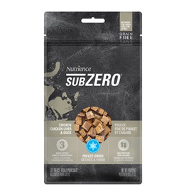 Dog & cat Nutrience Grain Free Subzero Fraser Valley Treats - Chicken, Chicken Liver & Duck Liver - 30 g (1 oz)