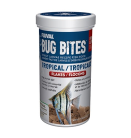 Aquaria Fluval Bug Bites Tropical Flakes - 90 g (3.17 oz)