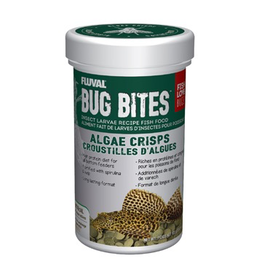 Aquaria Fluval Bug Bites Algae Crisps - 100 g (3.52 oz)