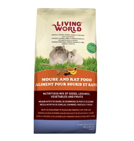 Small Animal (D) Living World Classic Mouse and Rat Food - 250 g (8.8 oz)