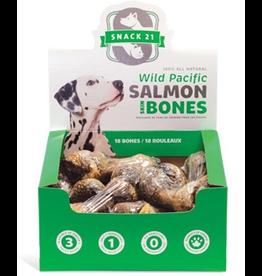 Dog & cat (W) Snack 21 Salmon Skin Bones for Dogs