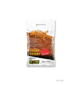 Aquaria Exo Terra Stone Desert Substrate - Outback Red Stone - 5 kg (11 lbs)