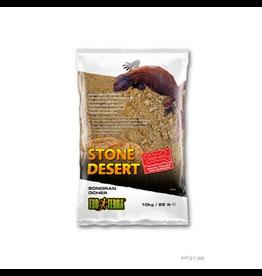 Reptiles Exo Terra Stone Desert Substrate - Sonoran Ocher - 10 kg (22 lbs)