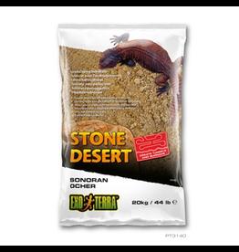 Reptiles (W) Exo Terra Stone Desert Substrate - Sonoran Ocher - 20 kg (44 lbs)