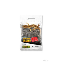 Reptiles Exo Terra Stone Desert Substrate - Bahariya Black - 5 kg (11 lbs)
