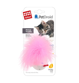 Dog & cat Pet Droid - Wobble Feather with Motion Activated Sound Chip