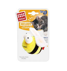 Dog & cat Melody Chaser - Bee with Motioned Activated Sound Chip