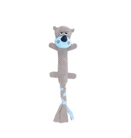 Dog & cat Dogit Stuffies Dog Toy – Branch Friend - Rhino - 44 cm (17.5 in)