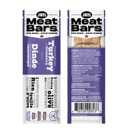 Dog & cat Jays MEATBARS Turkey & Cranberry