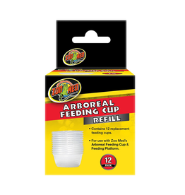 Reptiles ZM Arboreal Feeding Cup Refill - 12 pk