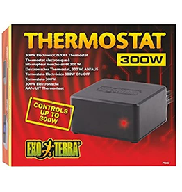 Reptiles (W) Exo Terra ON/OFF Electronic Thermostat - 300 W