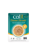 Dog & cat Catit Divine Shreds - Tuna with Seabream & Wakame - 75g Pouch