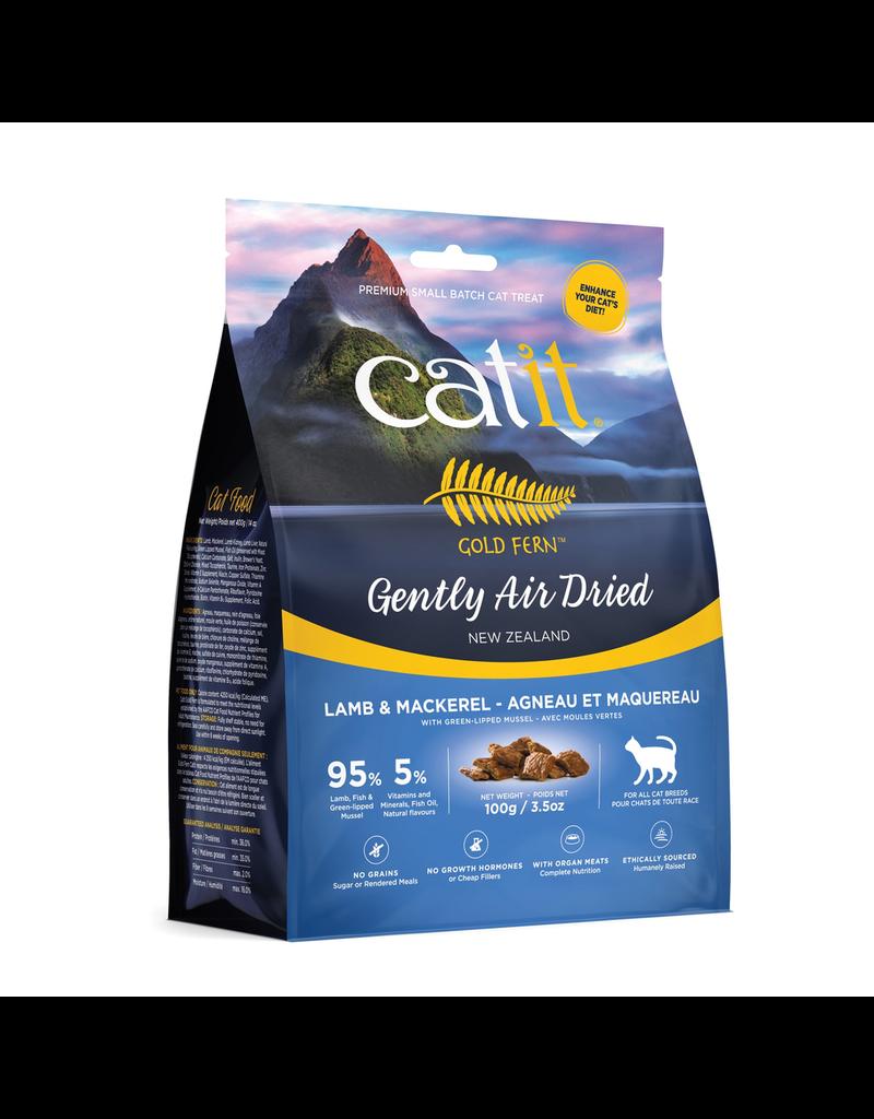Dog & cat Catit Gold Fern Premium Air-Dried Cat Food - Lamb & Mackerel - 100 g (3.5 oz)