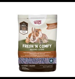 Small Animal Living World Fresh 'N Comfy Bedding - 10 L (610 cu in) - Confetti