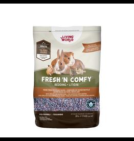 Small Animal Living World Fresh 'N Comfy Bedding - 20 L (1220 cu in) - Confetti