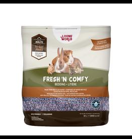 Small Animal Living World Fresh 'N Comfy Bedding - 50 L (3050 cu in) - Confetti
