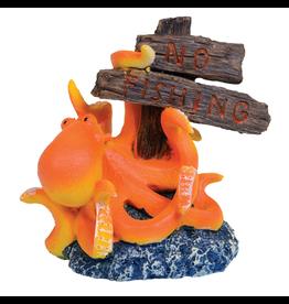 "Aquaria UT ""No Fishing"" Octopus"
