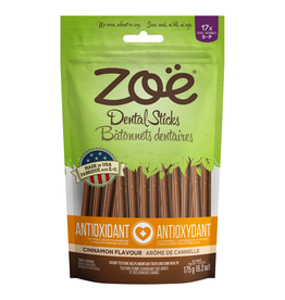 Dog & cat Zoë Dental Sticks for Dogs – Antioxidant - Cinnamon Flavour - 175 g (6.2 oz)