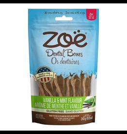 Dog & cat Zoë Dental Bones - Vanilla and Mint Flavour - Medium - 243 g (8.5 oz)
