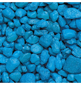 Aquaria Special Spectrastone Gravel - Light Blue - 25 lb