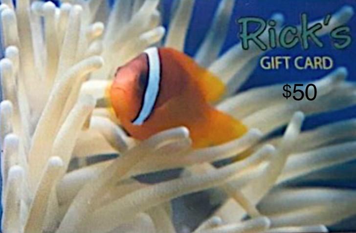 Aquaria GIFTCARD $50