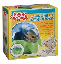 Small Animal Living World Chinchilla Bath House