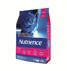 Dog & cat Nutrience Original Healthy Adult Indoor, Chicken Meal with Brown Rice Recipe - 5 kg