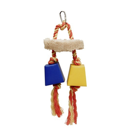 Bird (D) Living World Festive Favors, Rope - Wood & Paper Box Toy - 23 cm