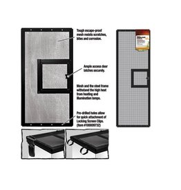 Reptiles (W) CL SCREEN COVER DOOR (36X12)