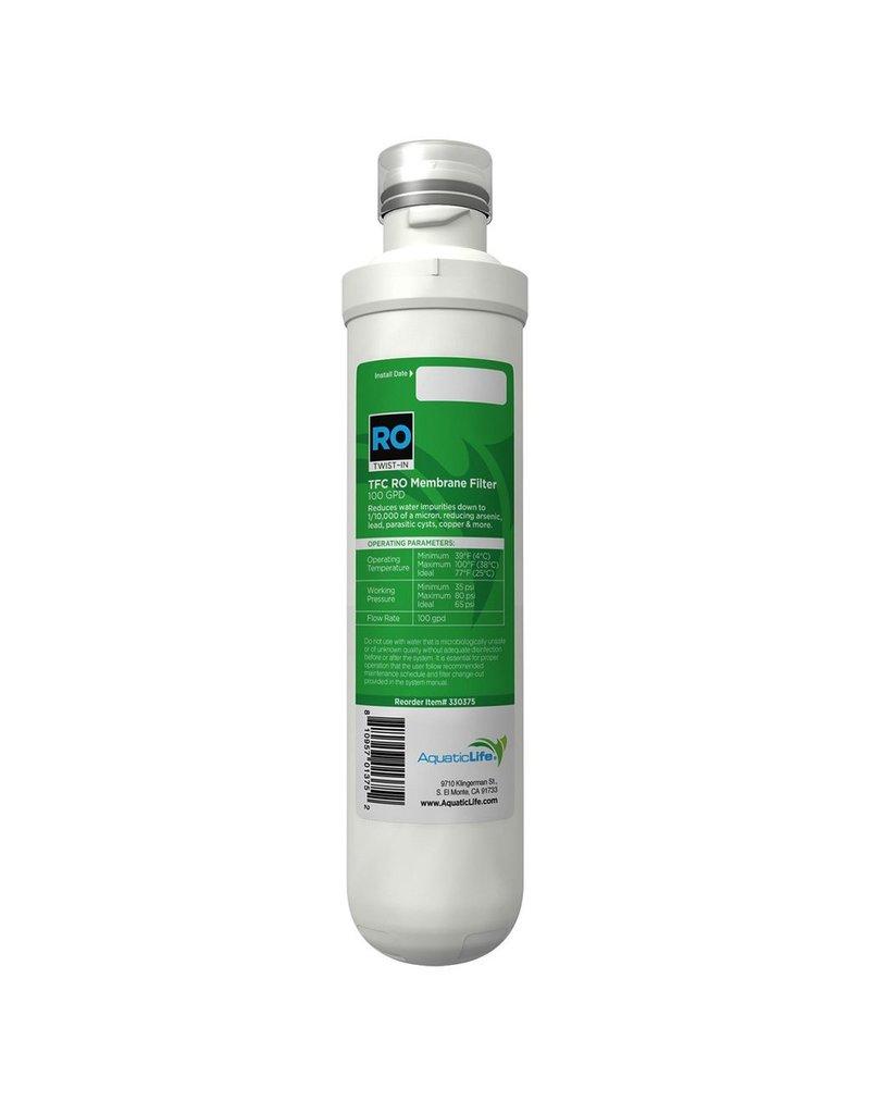Aquaria (W) Aquatic Life Twist-In TFC RO Membrane Filter Cartridge - 100 gpd (LC)