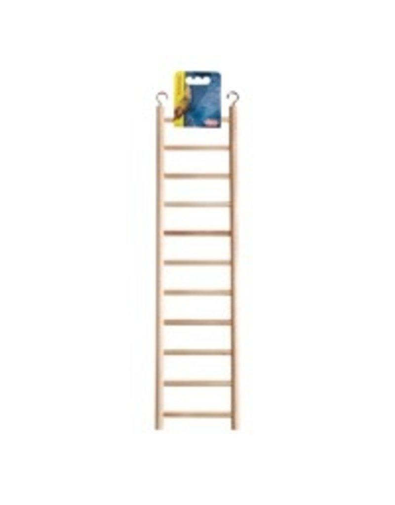 Bird Living World Wooden Bird Ladder - 11 Steps - 43 cm (17 in) Long