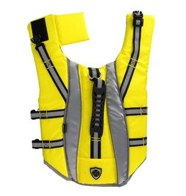Dog & cat (W) Protect Me Alert Series Life Vest - Yellow - Large