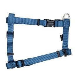 "Dog & cat Zeus Nylon Dog Harness - Denim Blue - XLarge - 2.5 cm x 61-100 cm (1"" x 24""-39"")"