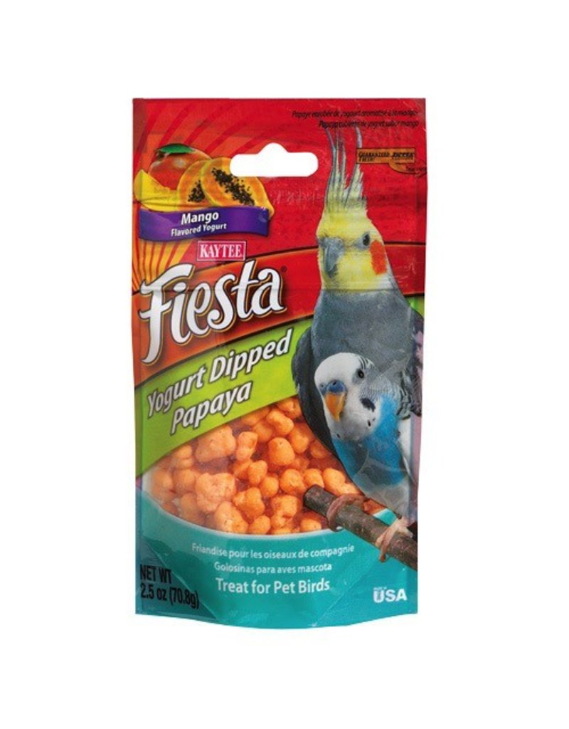 Bird (W) Fiesta Yogurt Dipped Papaya - Mango Yogurt - 2.5 oz