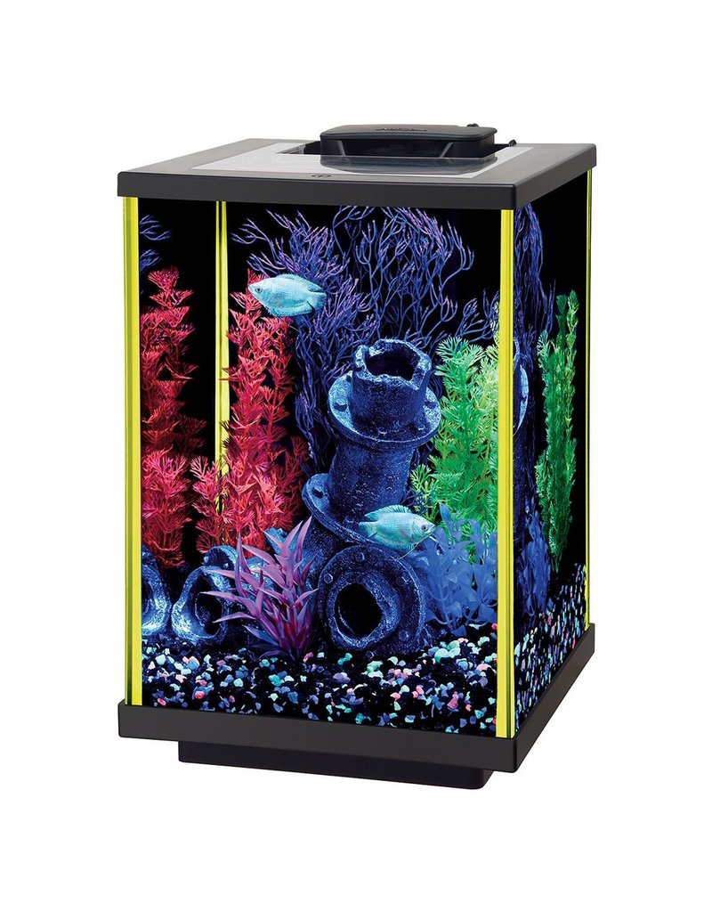 Aquaria NeoGlow Column Aquarium Kit - Lime Green - 5 gal