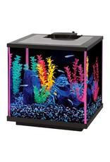 Aquaria NeoGlow Cube Aquarium Kit - Pink - 7.5 gal