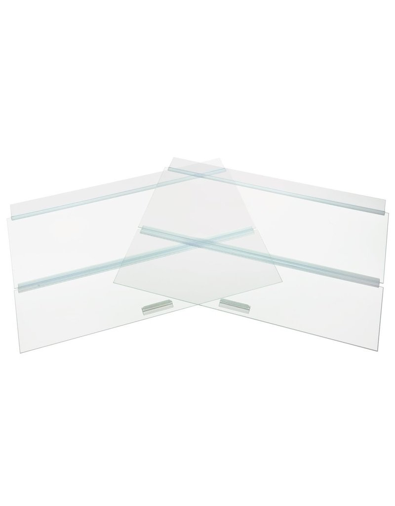 "Aquaria (W) SE Glass Canopy - 48"" x 18"""