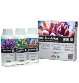 Marine (W) Red Sea Reef Foundation ABC+ Liquid Supplement - 250 ml - 3 pk