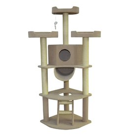 Dog & cat (W) Cat Tree Scratcher - New Yorker - 66""