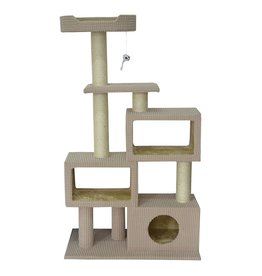 Dog & cat Cat Tree Scratcher - Tower Condo - 51""