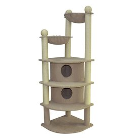 Dog & cat (W) Cat Tree Scratcher - Skyscraper - 66""
